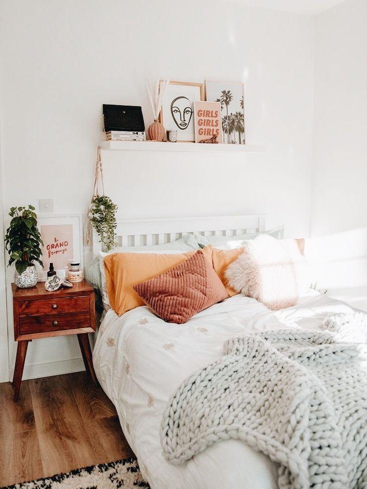 Cozy white room