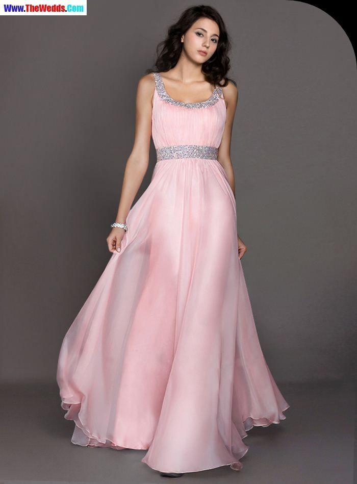 light pink long sleeve prom dresses | Prom Dresses | Pinterest
