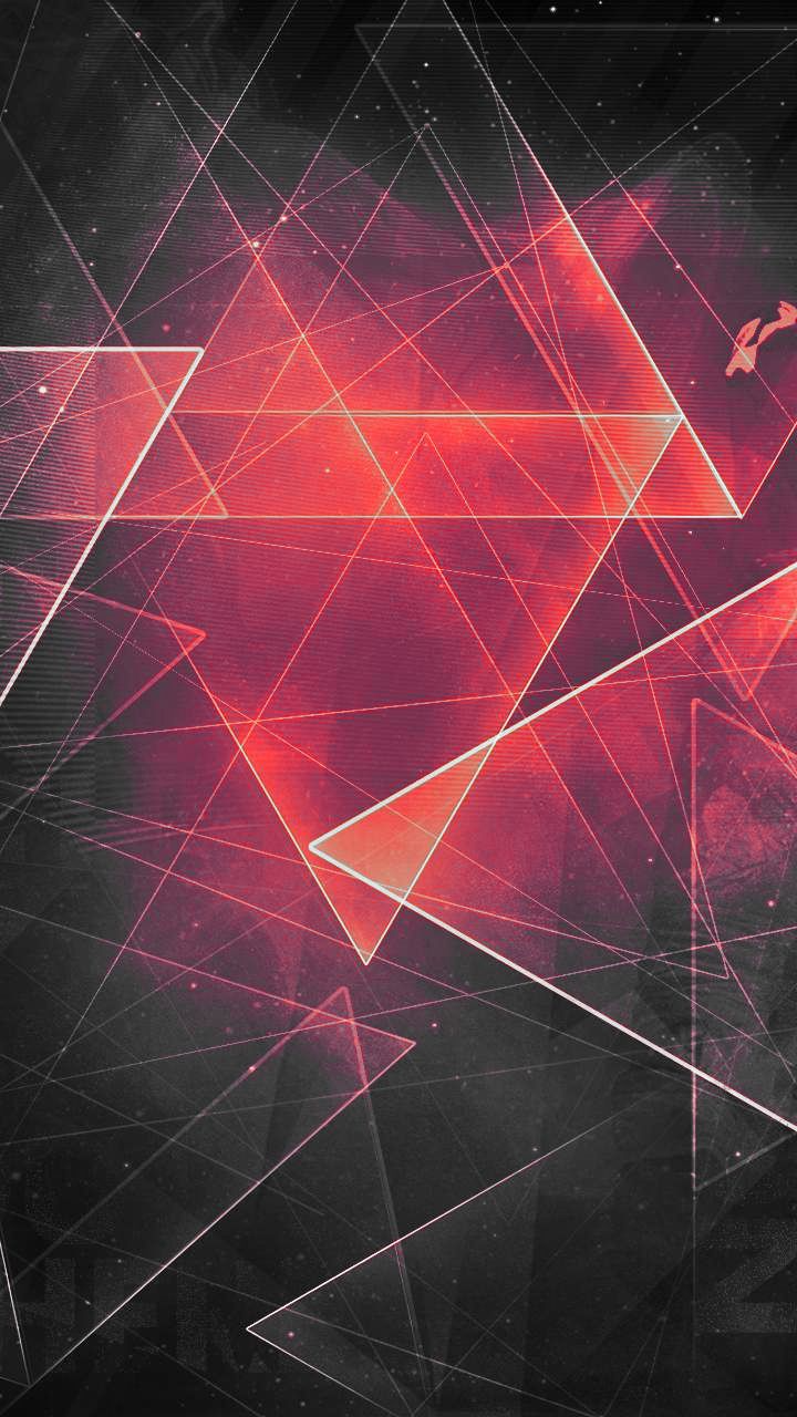 Abstract Triangle Wallpaper Hd Allwallpaper In 2020 Poster Background Design Cool Wallpaper Abstract