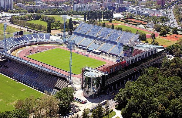 Maksimir Dinamo Zagreb Estadio Futebol Zagreb Croacia