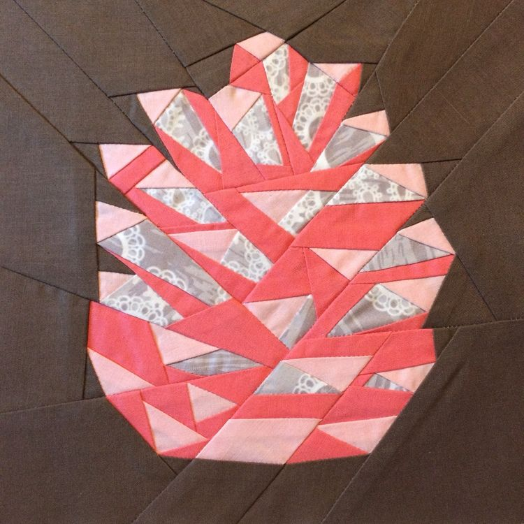 Forest Abstractions The Pinecone Free PDF Paper Pieced download ...