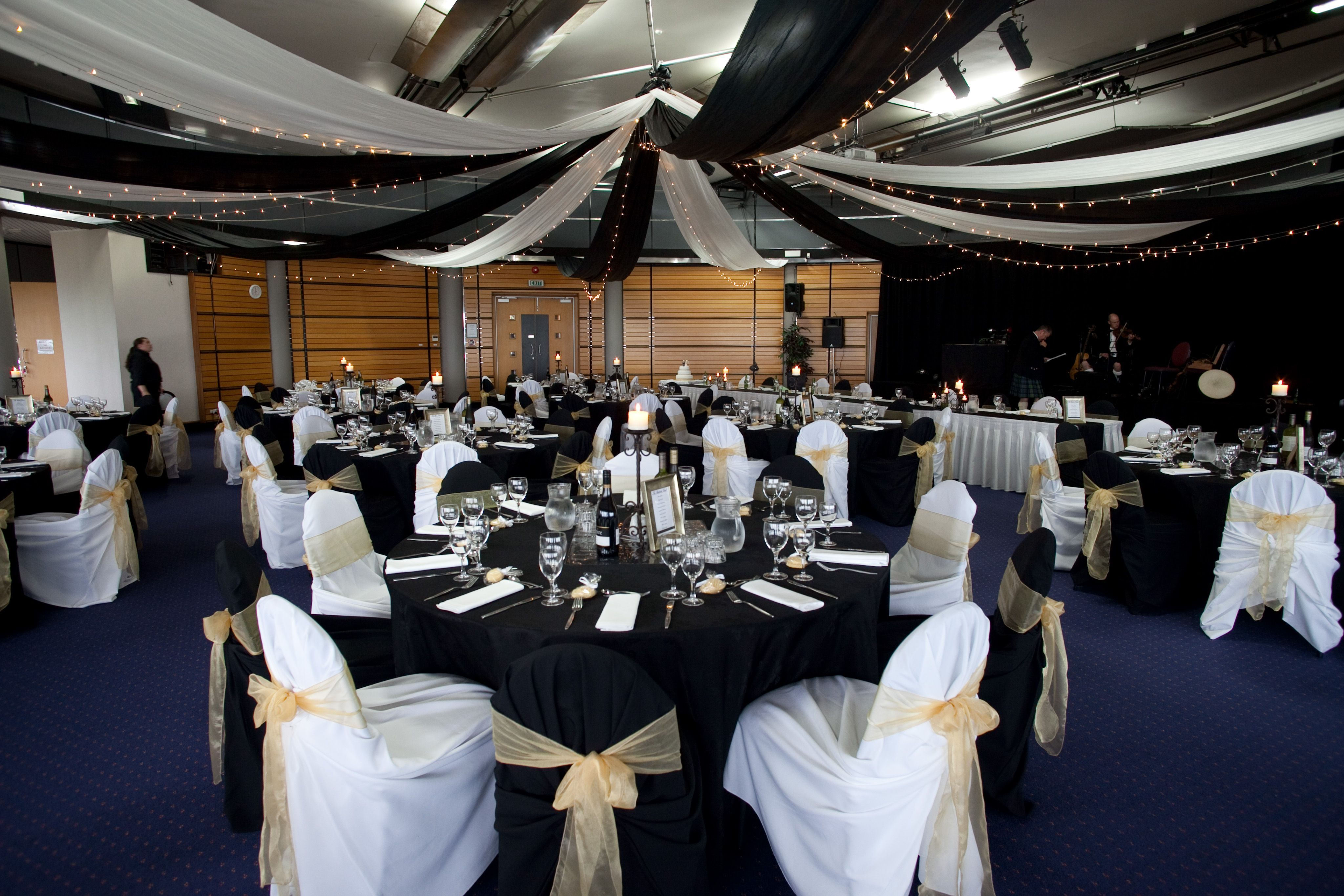 Black & White Themed wedding | Real Wedding Ceiling Canopies ...