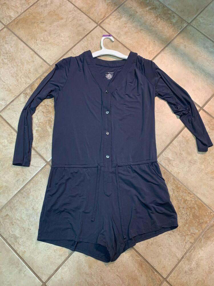 Knix By Knixwear Pajamas Jumpsuit Lounge Ware Womens Size Large Ebay Womens Sizes Pajamas Women