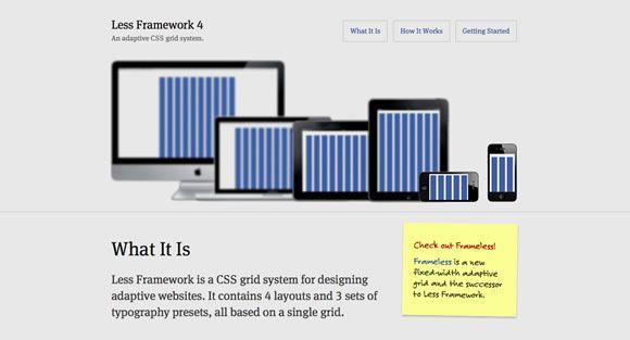 Responsive Web Design Templates And Frameworks Web Design Ledger Web Design Tools Web Template Design Web Design