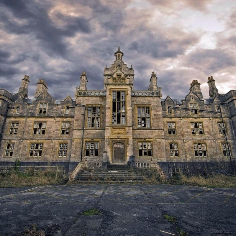 North Wales Hospital, Or Denbigh Asylum Was Officially