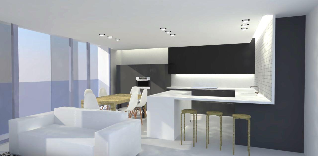 Ideas de decoracion de cocina estilo contemporaneo Estilo contemporaneo arquitectura