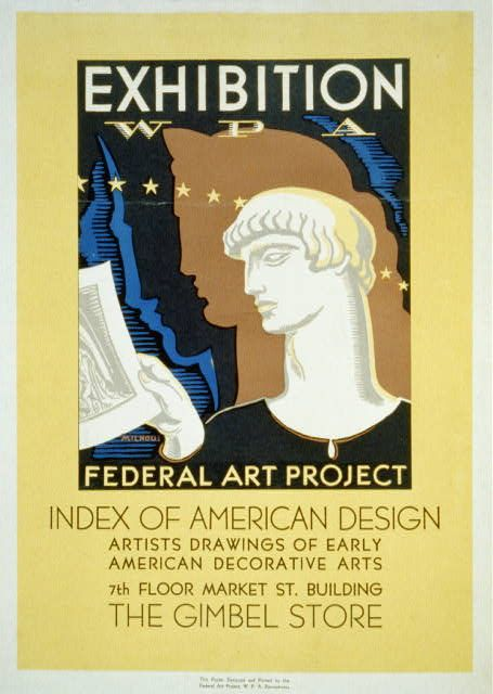 title exhibition wpa federal art project index of american design