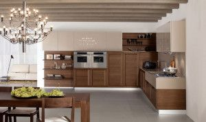 ikea-top-cucina-con-mobili-moderni-di-design-e-cucina-in-legno ...