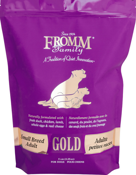 Fromm Gold Small Breed Adult Dry Dog Food Dog food recipes