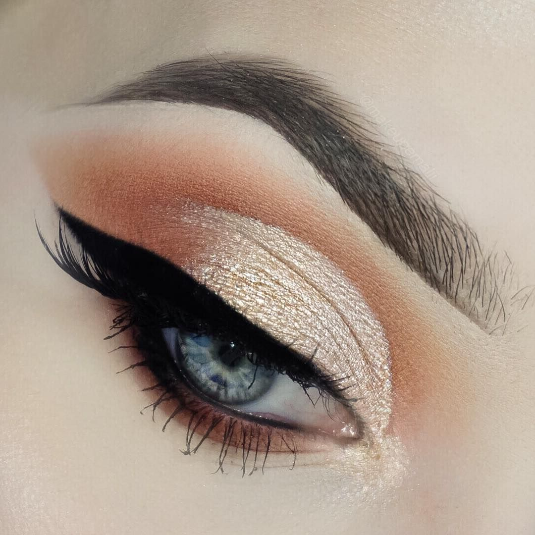 Afraid That Your Eye Makeup Will Crease In Order To Prevent