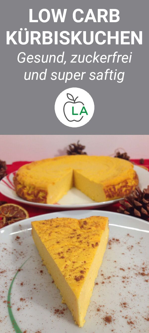 Low Carb Kürbiskuchen - ein herbstlicher Cheesecake Traum