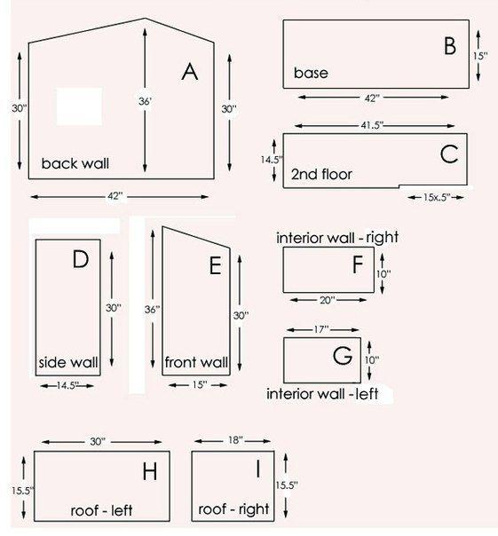 C mo hacer una casa de mu ecas con moldes c mo hacer una for Construir una casa online