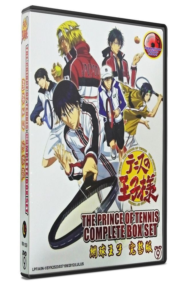 THE PRINCE OF TENNIS COMPLETE Season 17+OVA+ New 2012