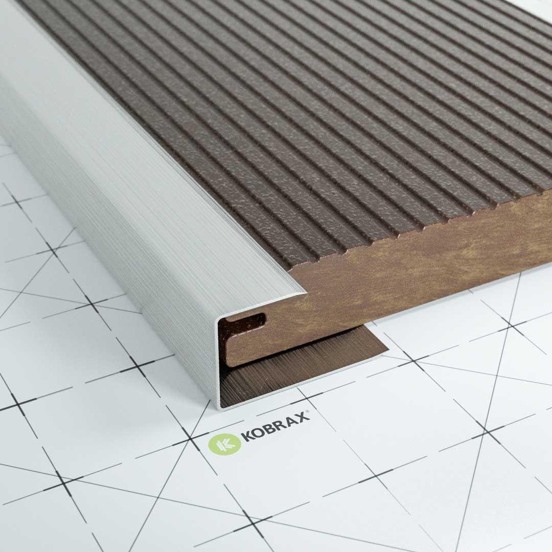 Kobrax Wpc Terrasse Basic Ebenholz Komplettset In 2020 Ebenholz Terrasse Holz