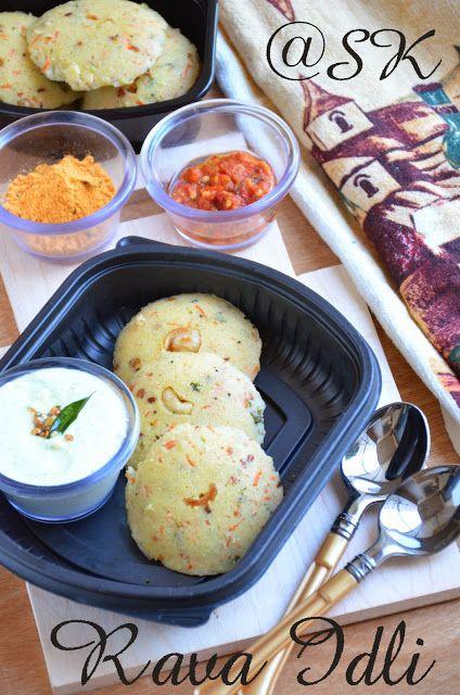 Savitha's Kitchen | Rava idli recipe, Idli recipe, Idli
