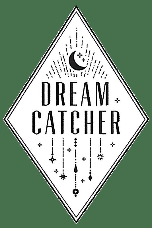 Dreamcatcher Logo Blanco
