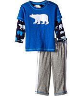 Hatley Kids  Tee & Track Pants Set - Classic Polar Bears (Infant)