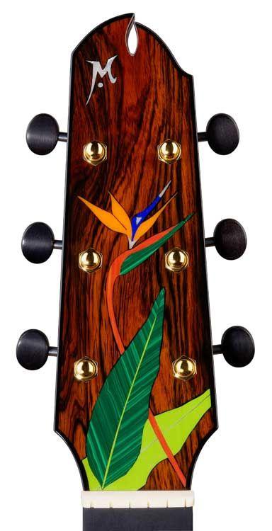 Headstocks Maingard Guitars Guitar Inlay Luthier Guitar Guitar Design