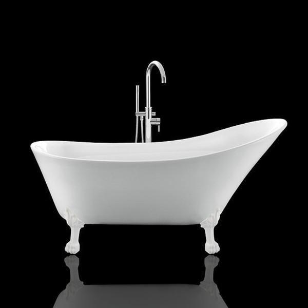 Vasca da bagno con piedi di leone balmain 161 cm 6 colore di piedi en 2019 vasche da bagno retro - Vasca da bagno con piedi ...