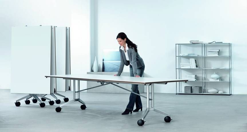 The Confair Folding Conference Table From Wilkhahn Is Not Just An Original,  In Terms Of Functions, Quality And Aesthetics Itu0027s Still Unbeatable Even  After ...