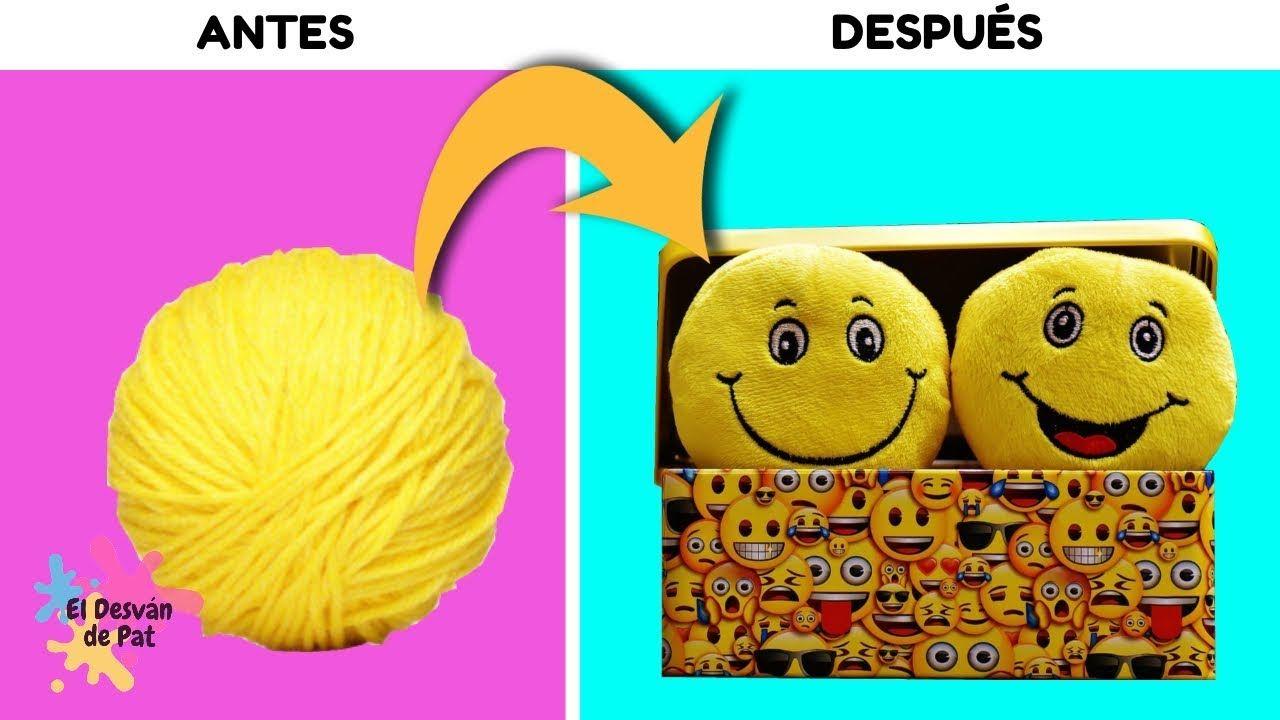 3 Manualidades Faciles De Emoji Que Puedes Hacer En Casa Para Nia Os En 5 Minutos Y Decorar Tu Cuarto Manualidades De Emojis Manualidades Faciles Manualidades