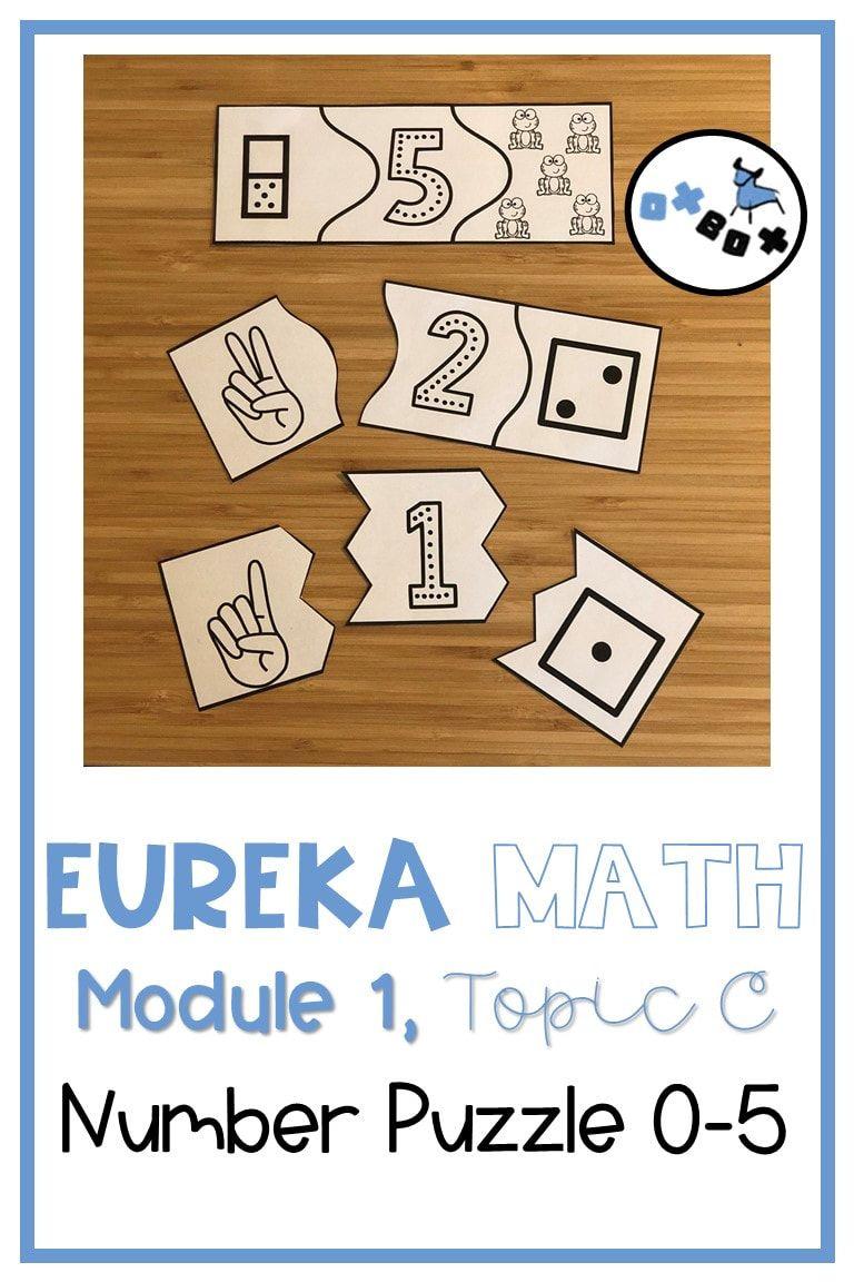 Kindergarten math centers aligned to Eureka Math! These