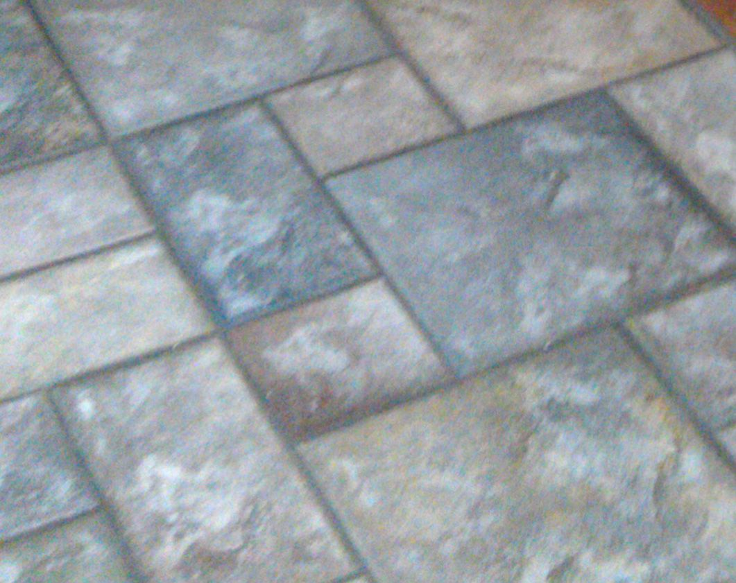 Cobblestone French Quarter By Daltile Installed Early 1990s