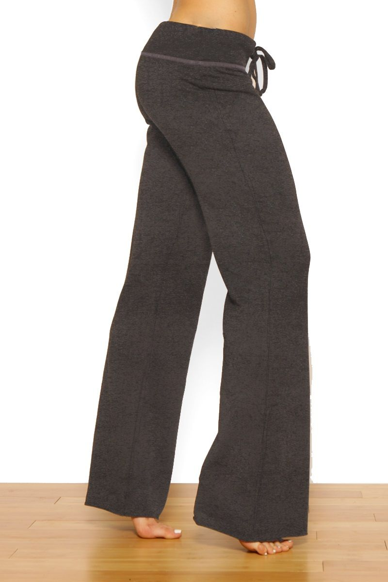 33 Inch Free Flow Yoga Pant by Green Apple Active | Indigo, Flare ...