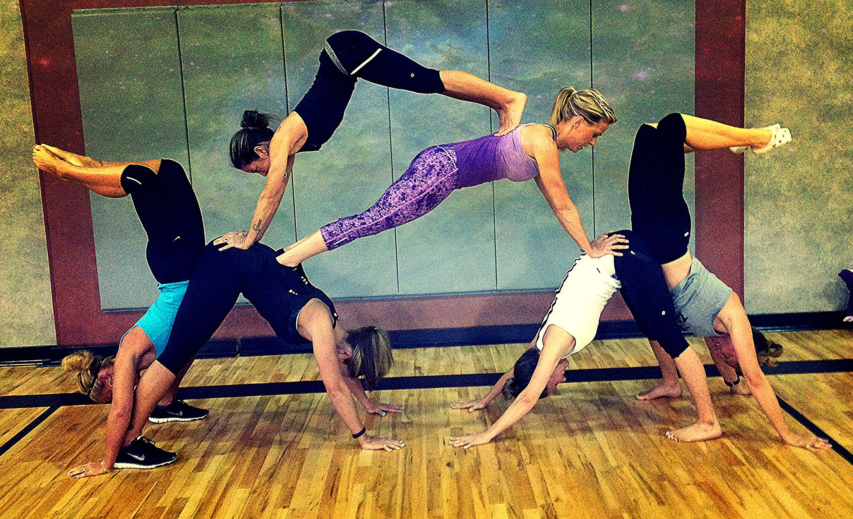 BEST Fitness Group Yoga Pyramid