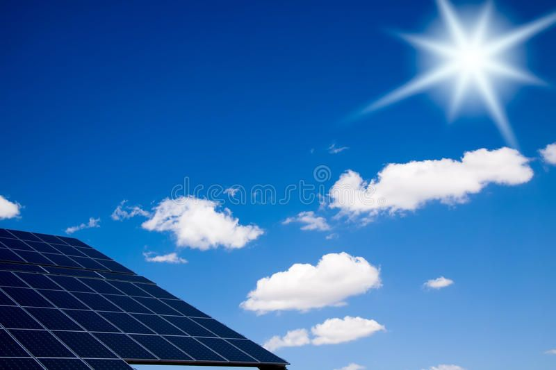 Photovoltaic Panels Bright Sun Over A Photovoltaic Pannels Affiliate Bright Panels Photovoltaic Photovoltaic Renewable Electricity Buy Solar Panels