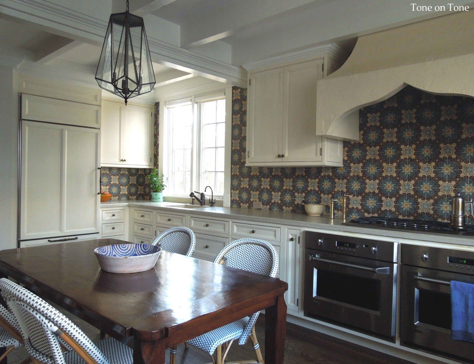 Uncategorized Lobkovich Kitchen Designs tone on morocco reflections and a kitchen lobkovich designs cabinetry mission tile west tiles available through renaissance tazi lantern