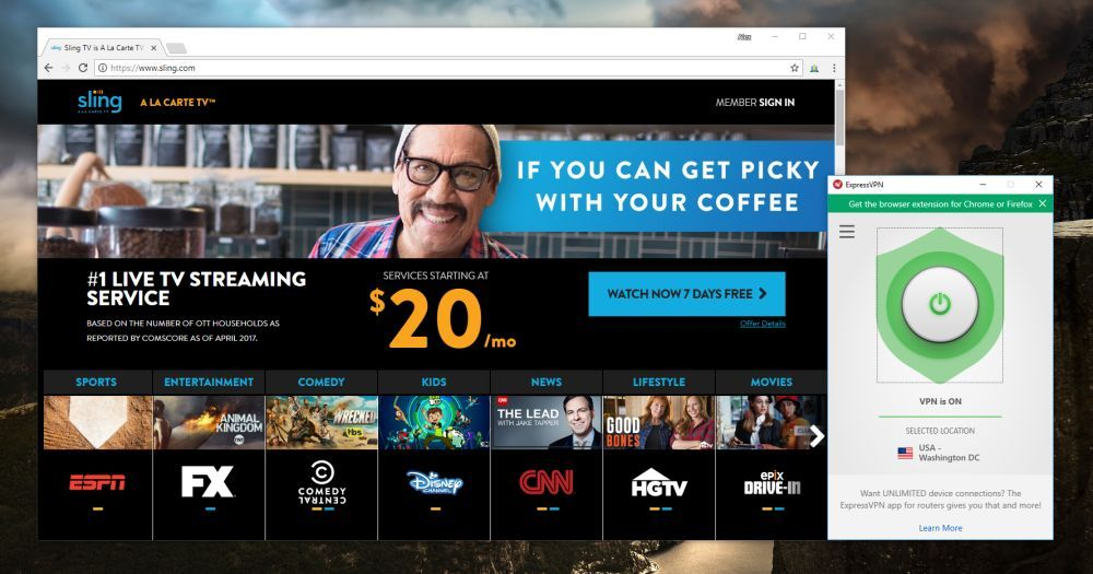 How to Watch Sling TV from Anywhere in the World Sling