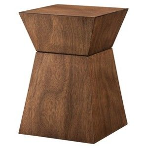 Threshold Accent Table Hourgl Wood Target Mobile