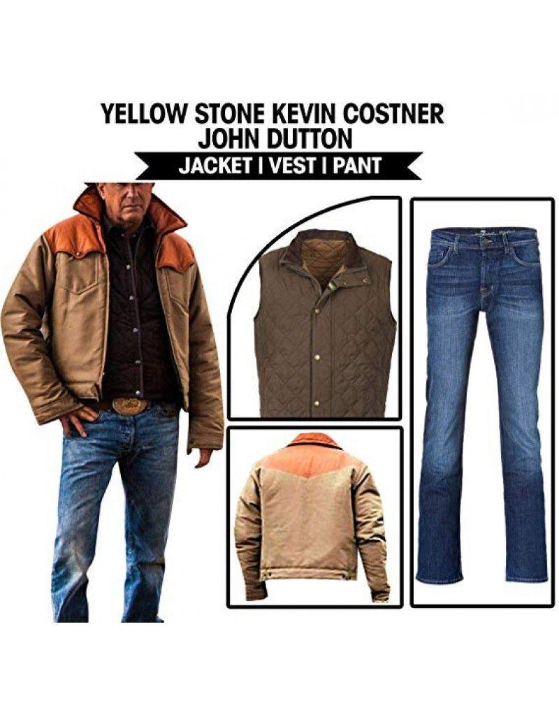 John Dutton Yellowstone Kevin Costner Vest Jacket Jackets Dapper Outfit Kevin Costner [ 1026 x 800 Pixel ]
