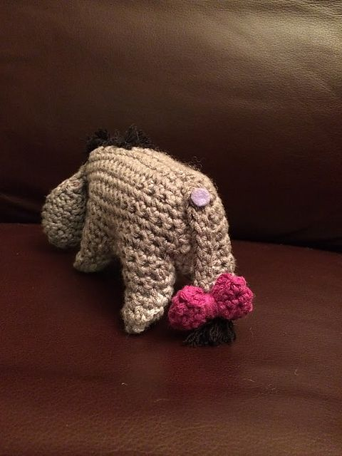 Ravelry: Eeyore pattern by Megan Kreiner   Winnie the Pooh   Pinterest