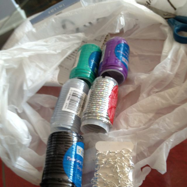 Supplies for the helloberry-inspired bracelets. Stay tuned for my works-in-progress