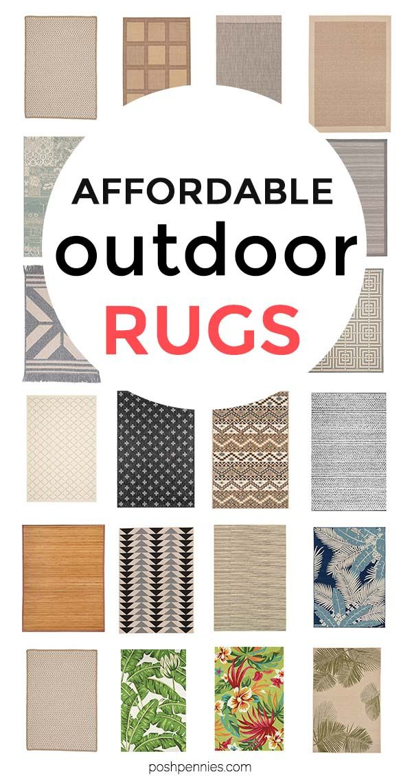The 25 Most Affordable Outdoor Rugs That Will Enhance Your Patio Decor #outdoorrugs
