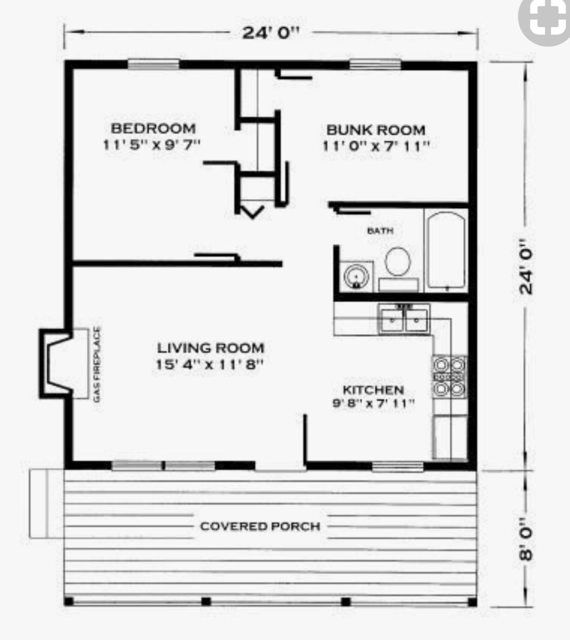24x24 Simple Plan Https Www Youtube Com Channel Ucxpj8hxf Jcir49vdaecjkg Videos Cabin Floor Plans Cabin Floor House Plans