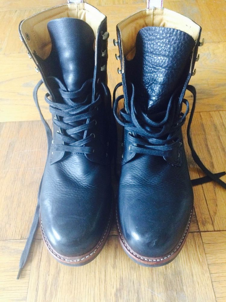 Men's Rag and Bone Officer Boots Size 10 Barely Used #RagandBone #Motorcycle