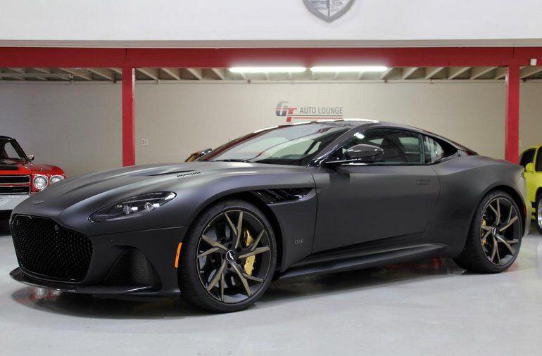 2019 Aston Martin Dbs Superleggera Satin Black Aston Martin Aston Martin Dbs Superleggera