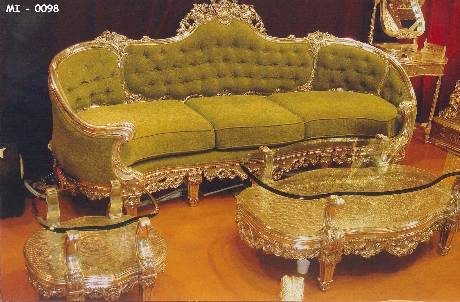 vintage rich homes | Royal Antique Living-Room Suite ...