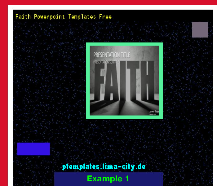 Faith Powerpoint Templates Free Powerpoint Templates 134413 The
