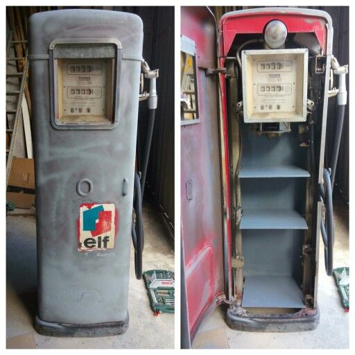 Pompa a essence étagères | custom | Meubles industriels, Pompe a ...