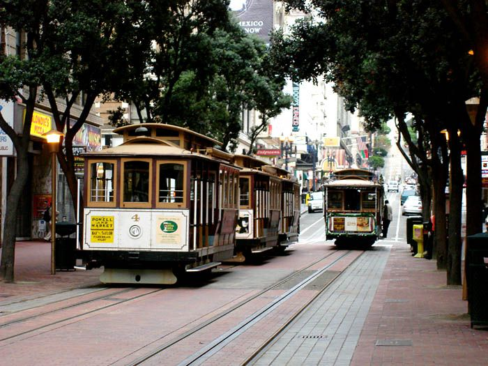 We Rode The Cable Cars On Powell Street San Francisco Ca Union