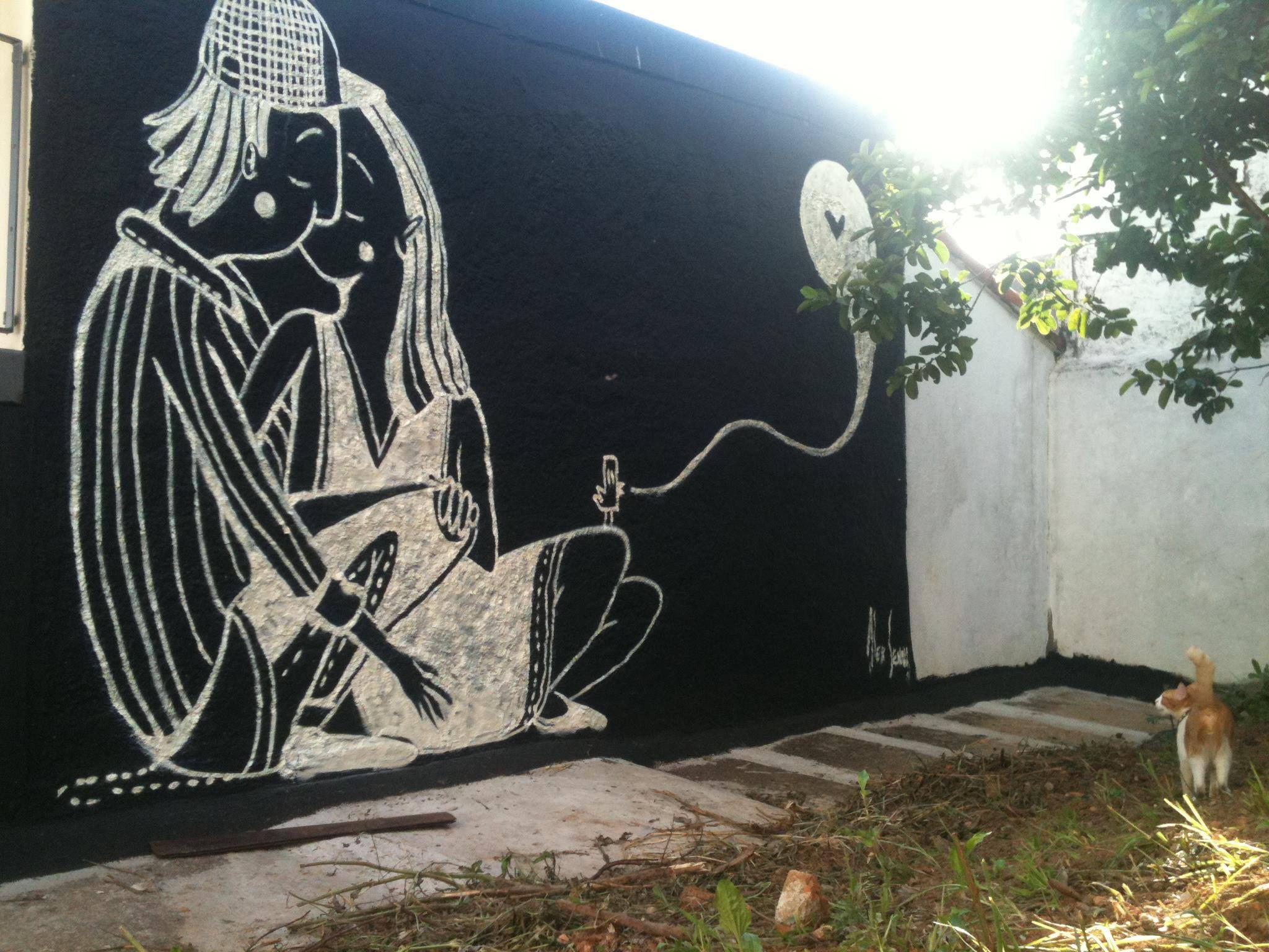 Alex Senna | Street art, Art, Mural