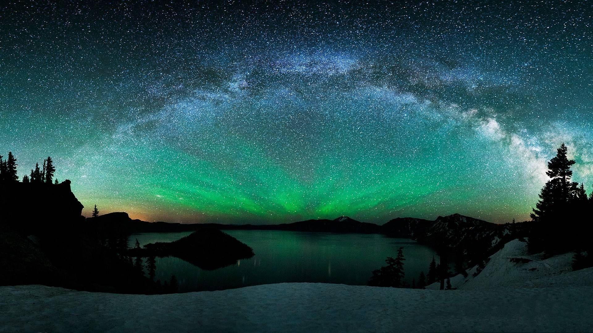 Real aurora borealis nature wallpaper x