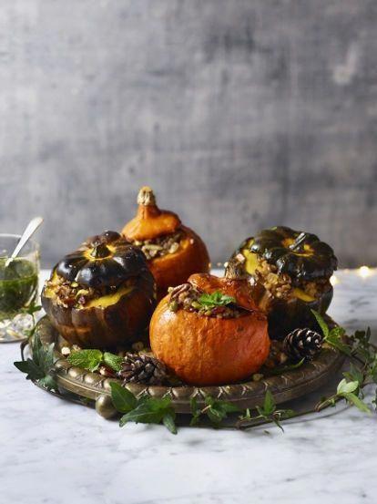 Stuffed roast squash | Jamie Oliver Christmas recipes #christmaslunch