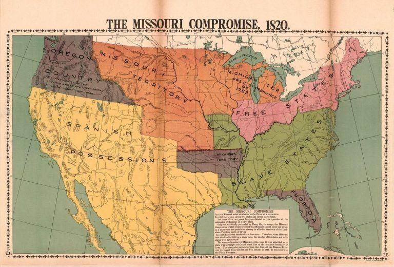 Missouri Compromised Anti Slavery Protest During The Missouri Statehood Debate The Journal Of The Civil War Era Missouri Compromise Missouri Civil War Era
