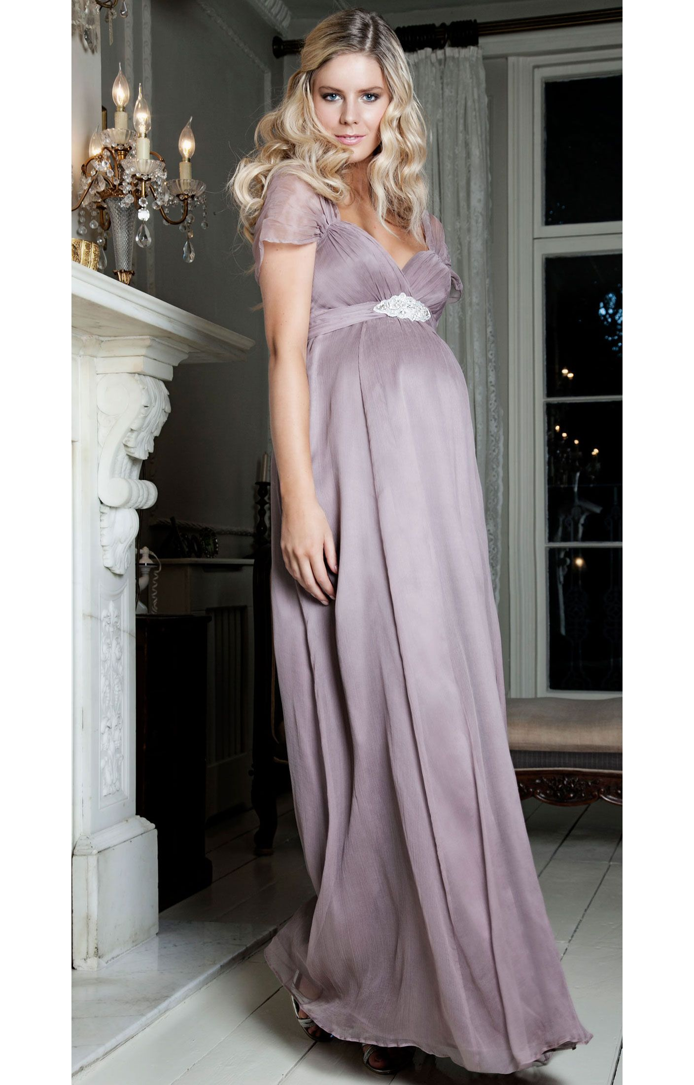 Silk sophia tiffany rose mauve and tiffany based on our bestselling sophia maternity wedding dress our silk sophia in ashen mauve is ombrellifo Image collections