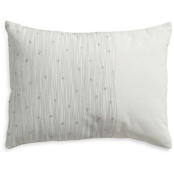 Calvin Klein Presidio Oceanside Cushion 40 Liked On Polyvore Custom Calvin Klein Decorative Pillows